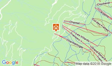 Karte Les Arcs Appartement 59509