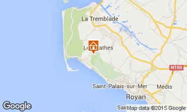 Karte Les Mathes Mobil-Home 77563