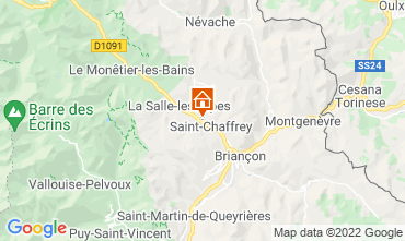 Karte Serre Chevalier Chalet 2931