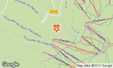 Karte Les Arcs Appartement 89727