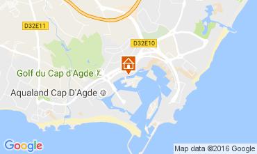 Karte Cap d'Agde Studio 107212
