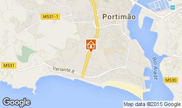 Karte Praia da Rocha Appartement 76352