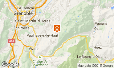 Karte Chamrousse Appartement 754
