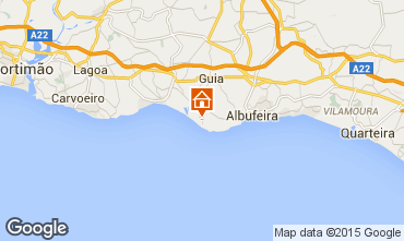 Karte Albufeira Appartement 20888