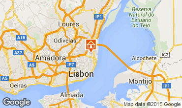 Karte Lissabon Appartement 80032