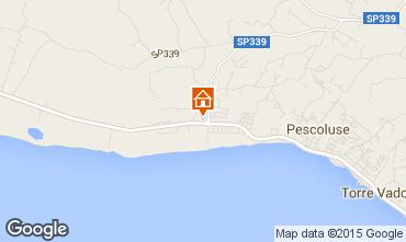 Karte Pescoluse Villa 94448