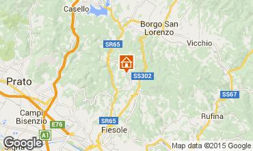 Karte Florenz Appartement 97623