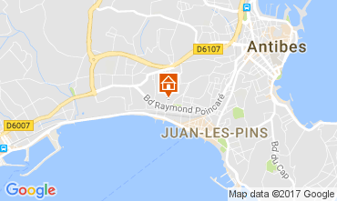 Karte Juan les Pins Appartement 112158