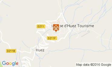 Karte Alpe d'Huez Studio 107357