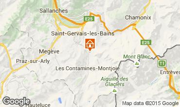 Karte Saint Gervais Mont-Blanc Appartement 18013
