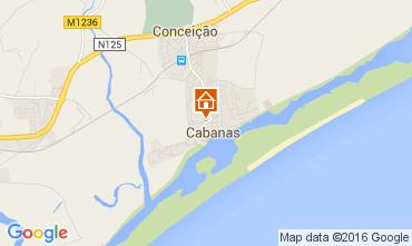 Karte Cabanas de Tavira Appartement 86261