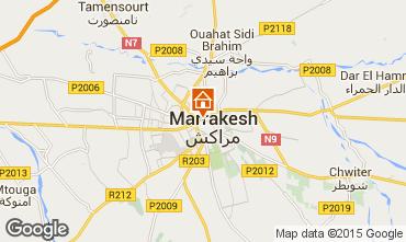 Karte Marrakesch Fremdenzimmer 95324