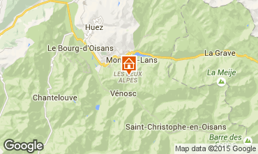 Karte Les 2 Alpes Appartement 101179