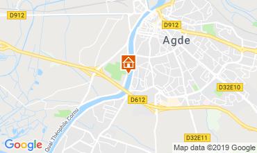 Karte Agde Mobil-Home 51877