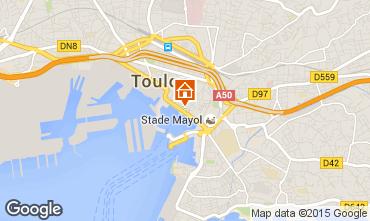 Karte Toulon Appartement 101185