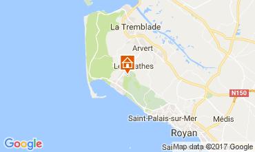 Karte La Palmyre Mobil-Home 67270