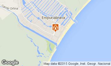 Karte Empuriabrava Appartement 53422