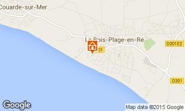 Karte Le Bois-Plage-en-Ré Haus 73424