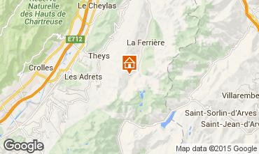Karte Les Sept Laux Studio 89817