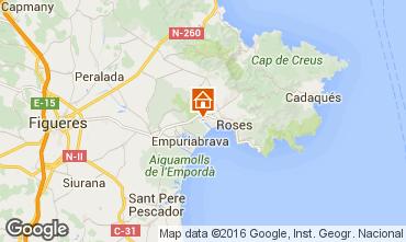 Karte Rosas Villa 96439