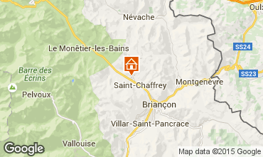 Karte Serre Chevalier Chalet 47619