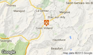 Karte Crest Voland Cohennoz Appartement 37613