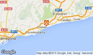 Karte Torredembarra Chalet 61565