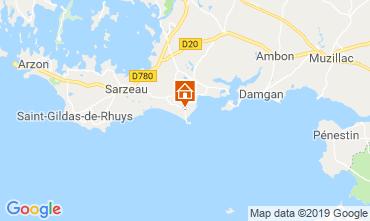Karte La Tremblade Bungalow 62983