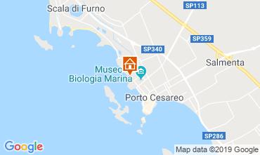 Karte Porto Cesareo Appartement 86647