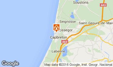 Karte Hossegor Appartement 6464