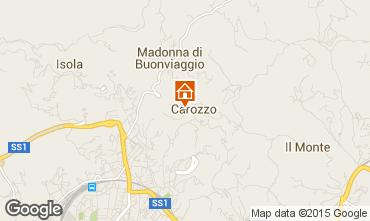 Karte La Spezia Appartement 71388
