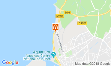 Karte Boulogne/mer Villa 117469
