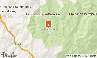 Karte Les Menuires Appartement 15411