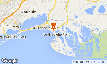 Karte Le Grau du Roi Appartement 97844