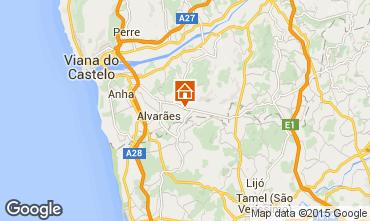 Karte Viana Do castello Villa 100039