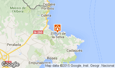 Karte Cadaquès Haus 58399