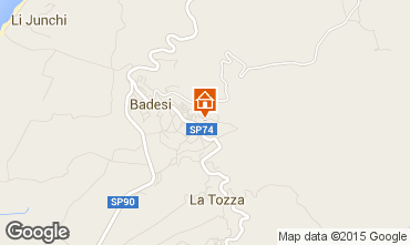 Karte Badesi Appartement 43384