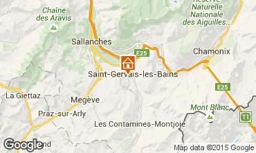 Karte Saint-Gervais-les-Bains Studio 86819