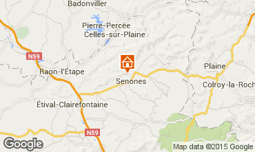 Karte Gérardmer Chalet 92467