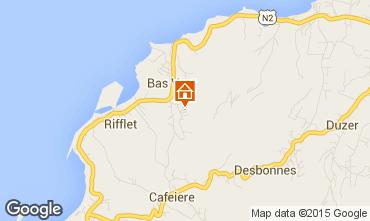 Karte Deshaies Ferienunterkunft auf dem Land 73814