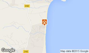Karte Saint Tropez Mobil-Home 5669