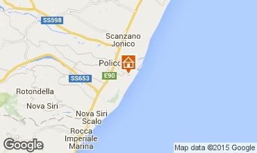Karte Policoro Villa 53617