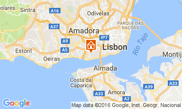 Karte Lissabon Appartement 106258