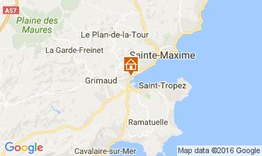Karte Port Grimaud Mobil-Home 14842