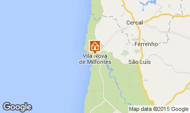 Karte Vila nova de Milfontes Appartement 42568