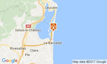Karte Le Barcares Haus 107704