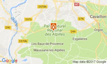 Karte Saint Rémy de Provence Haus 112732