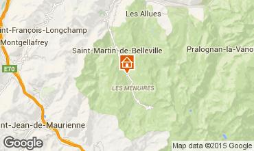 Karte Les Menuires Chalet 41939
