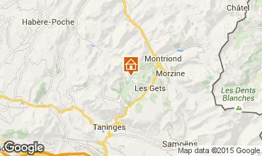 Karte Les Gets Appartement 1352