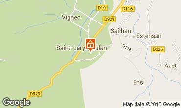 Karte Saint Lary Soulan Appartement 61229